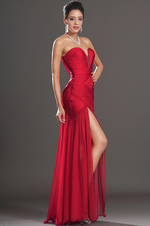 Robe gala rouge