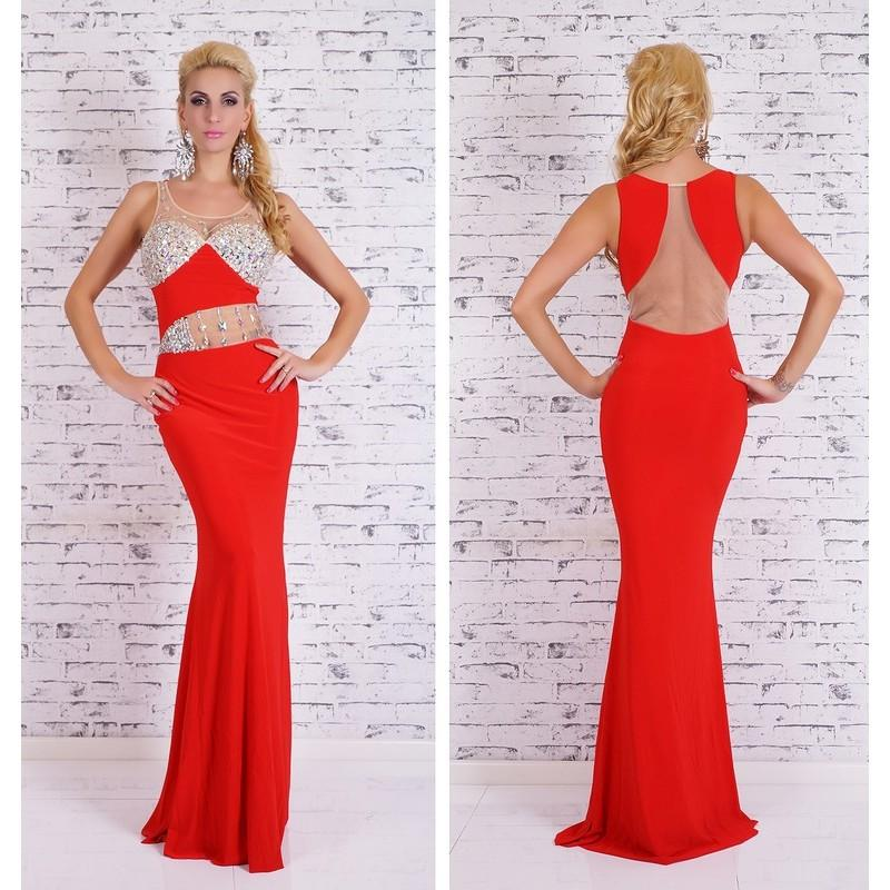 Robe glamour rouge