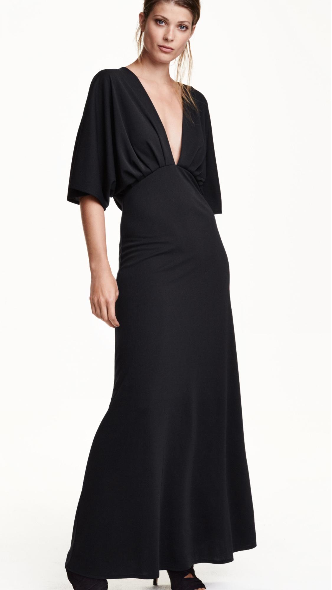 Robe h&m noir