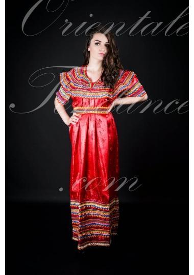 Robe kabyle rouge