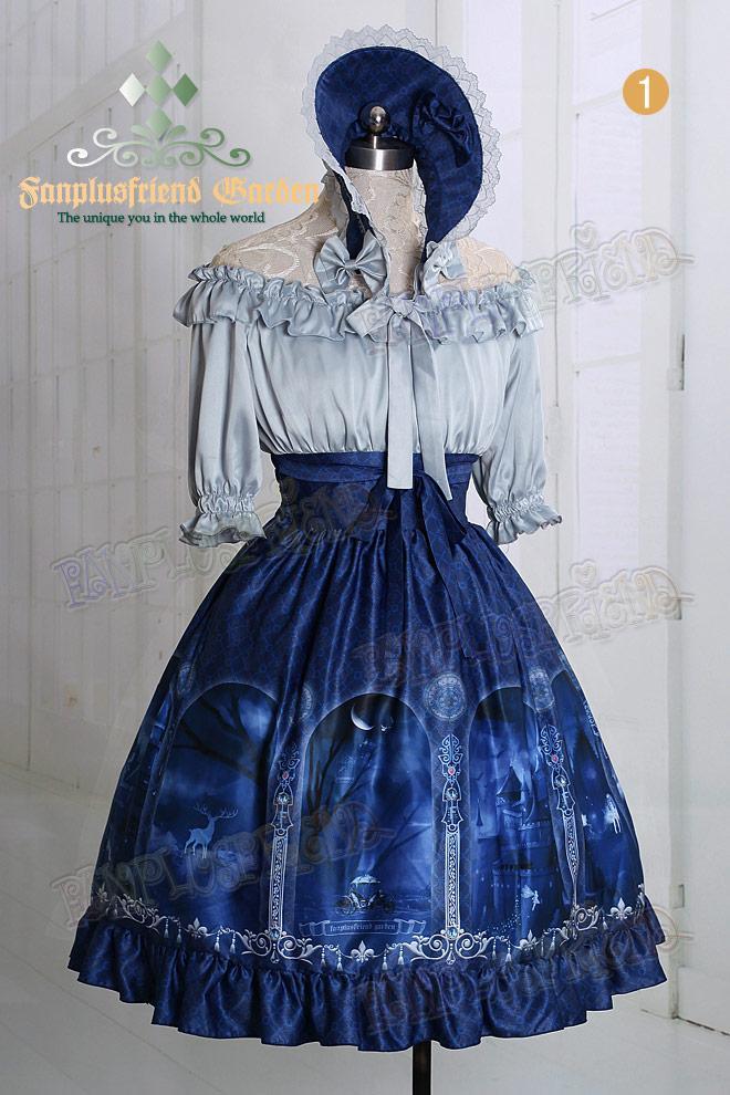 Robe lolita bleu