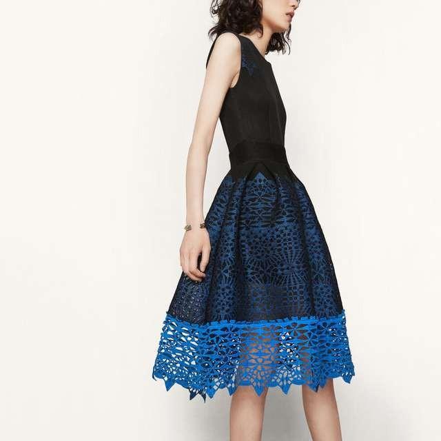 Robe maje bleu