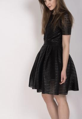 Robe maje noir