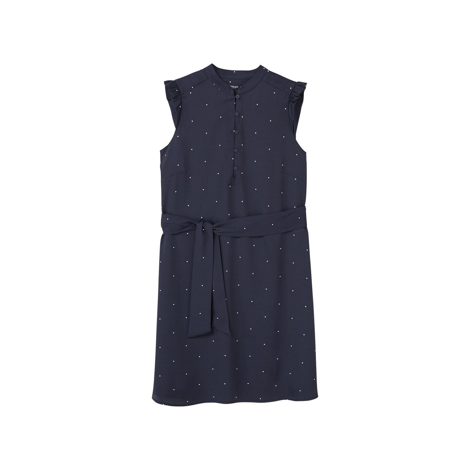 Robe mango bleu marine