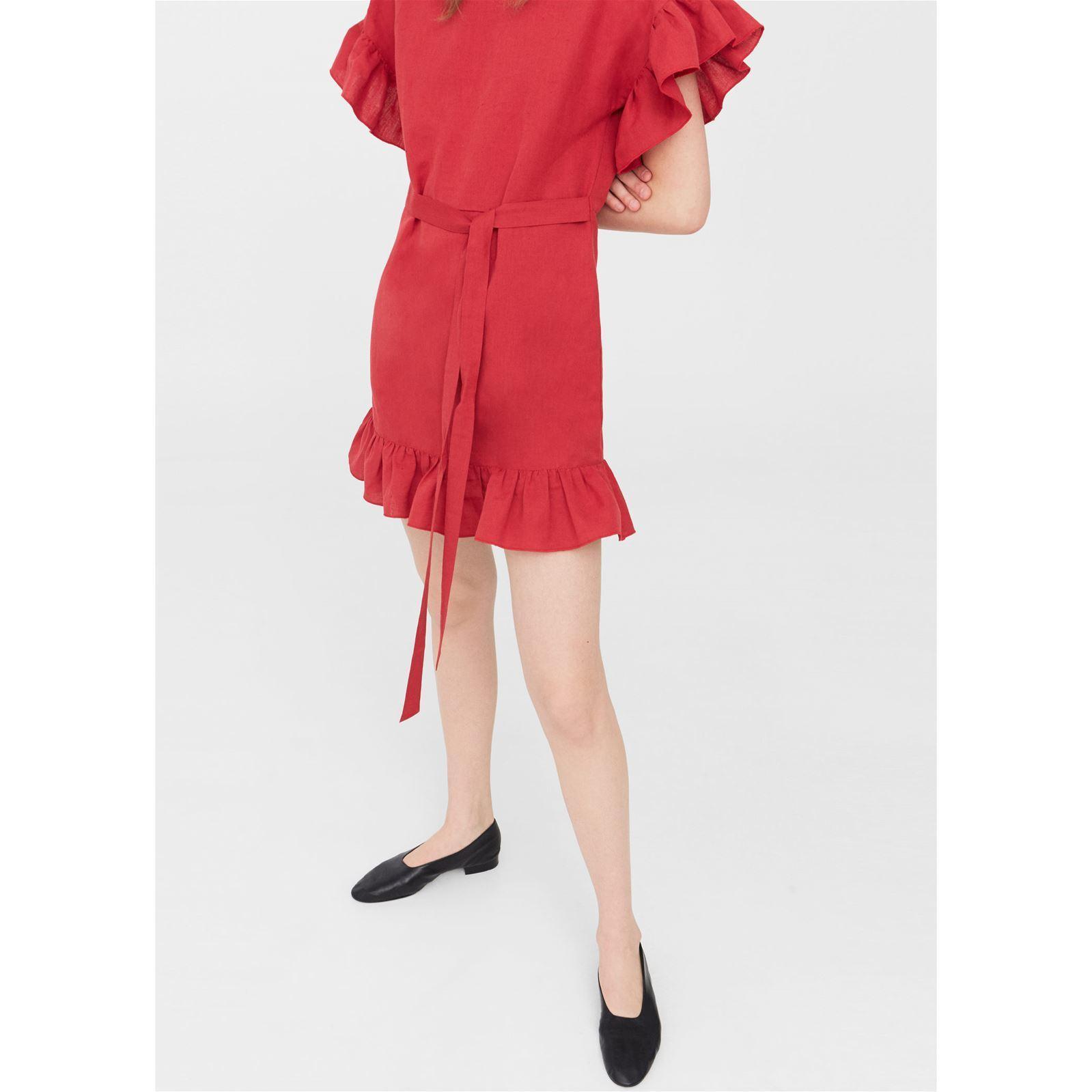 Robe mango rouge