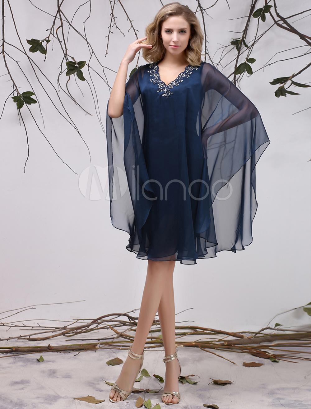 Robe mere dela mariee bleu