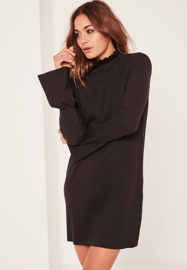 Robe noir ample