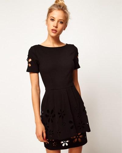 Robe noir asos