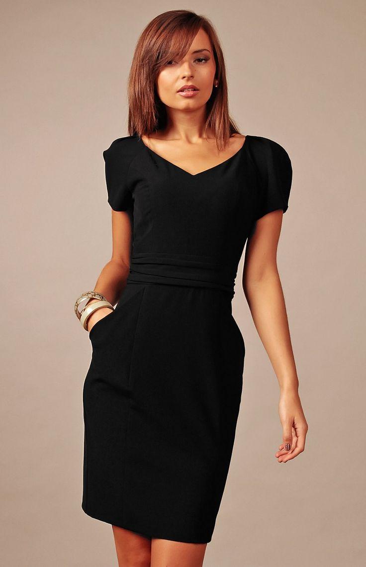 Robe noir chic femme