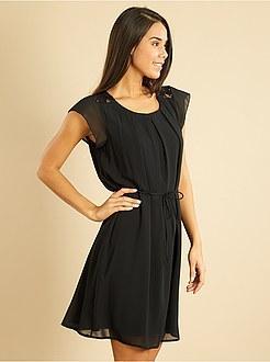 Robe noir courte