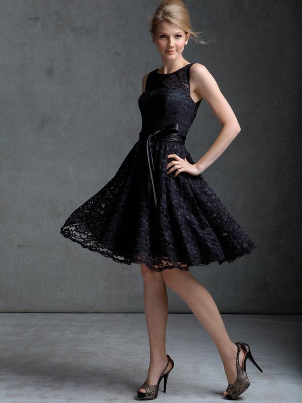 Robe noir de soirée pas cher