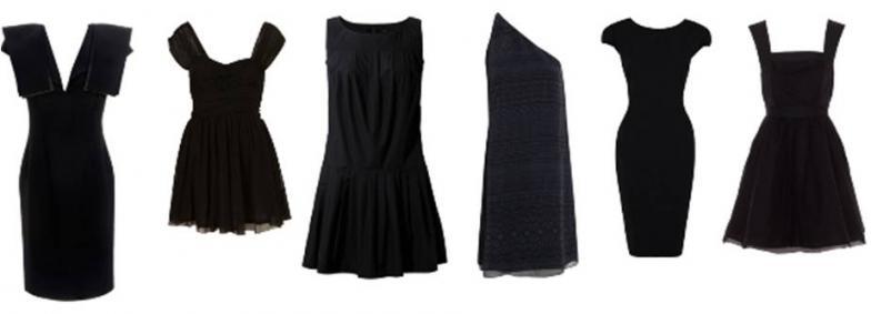 Robe noir dessin