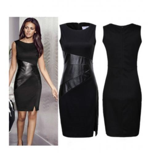 Robe noir elegante