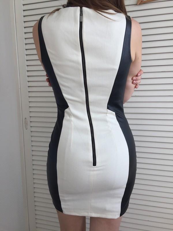 Robe noir et blanche h&m