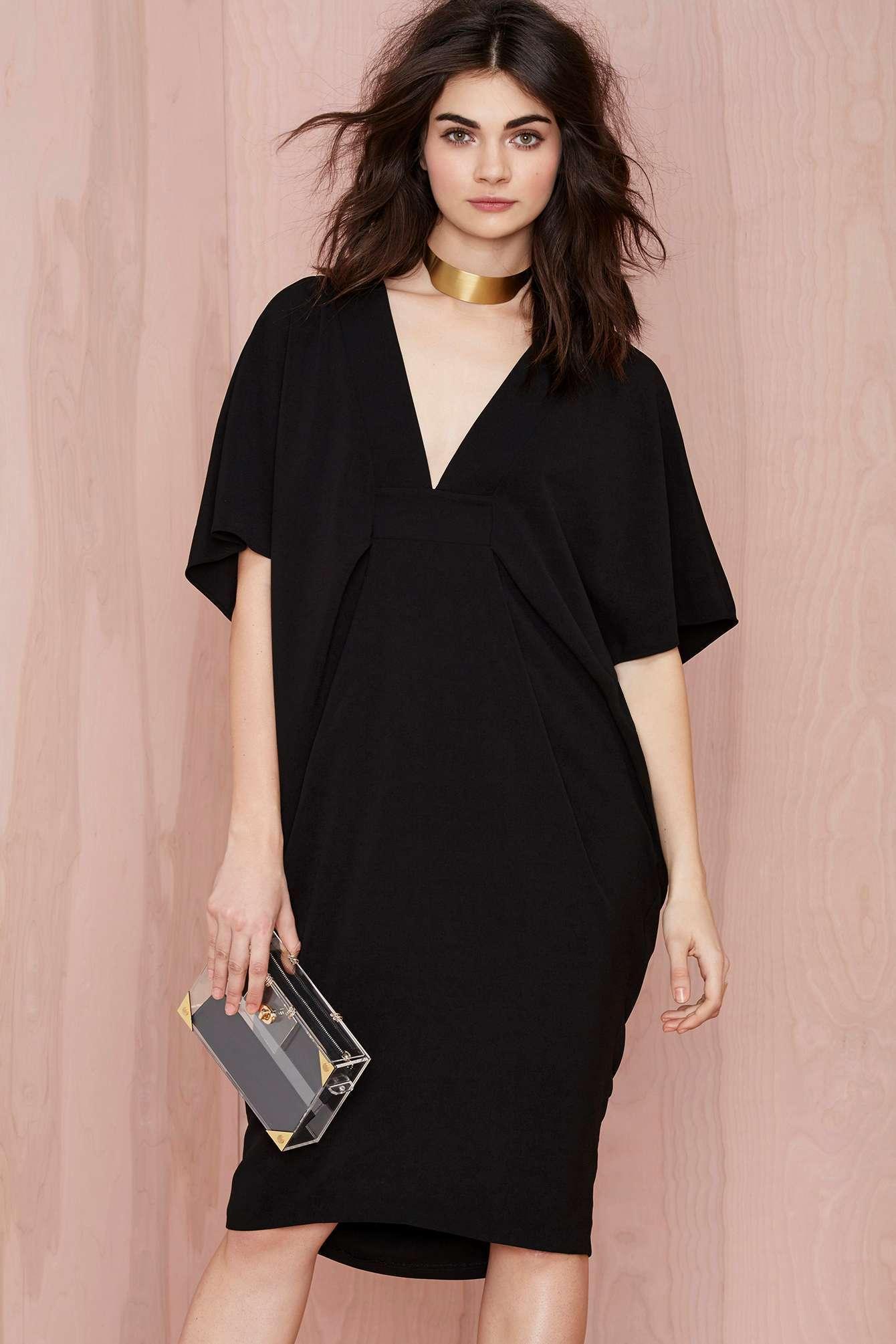 Robe noir femme pas cher