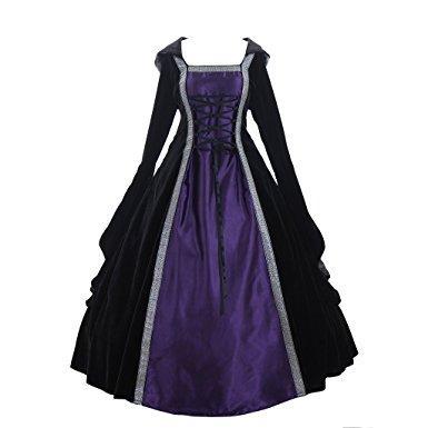 Robe noir gothique