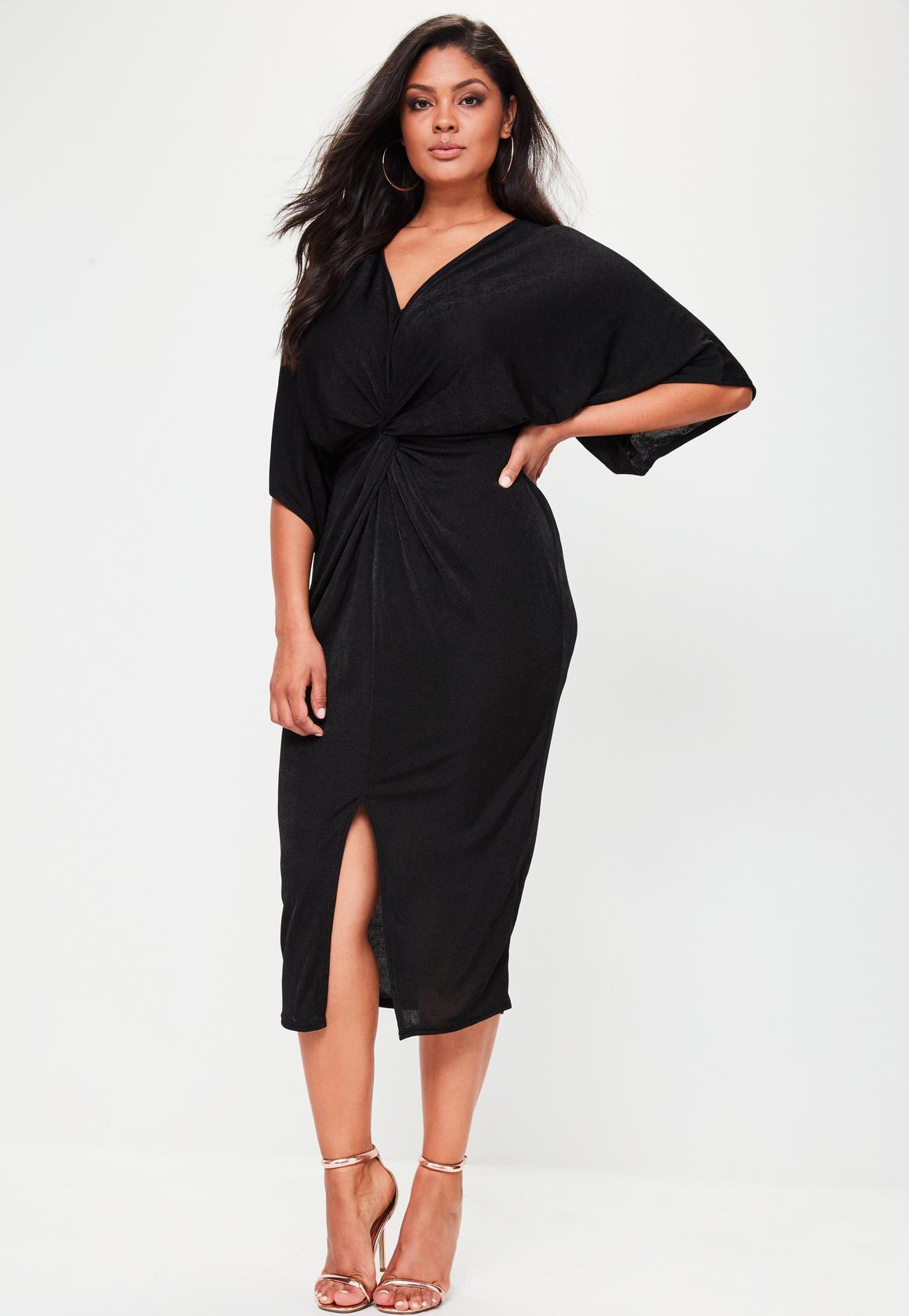 Robe noir grande taille