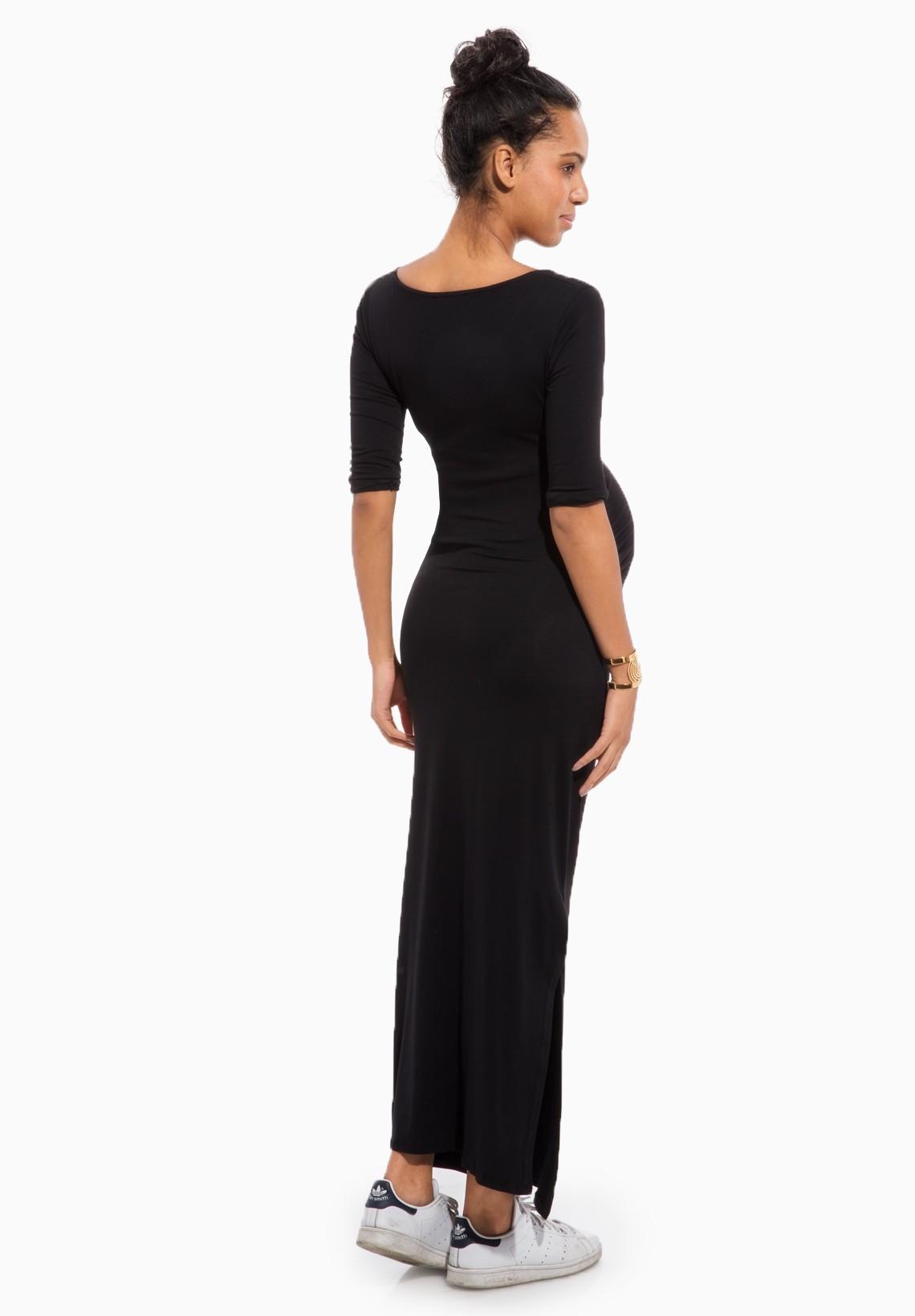 Robe noir grossesse