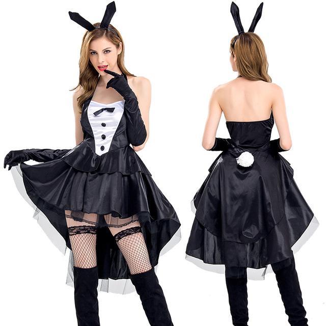 Robe noir halloween