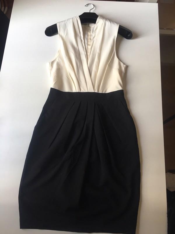 Robe noir hm