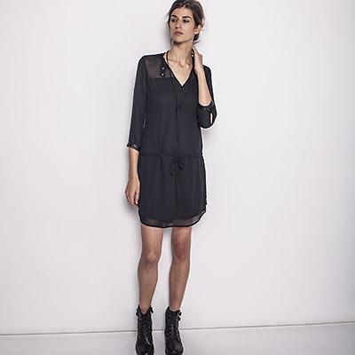 Robe noir ikks