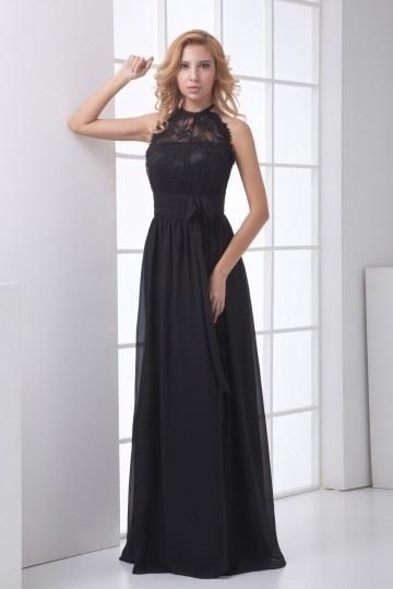 Robe noir long