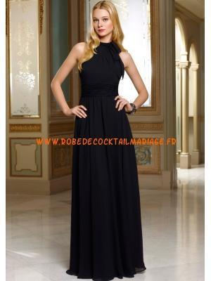 Robe noir longue pas cher
