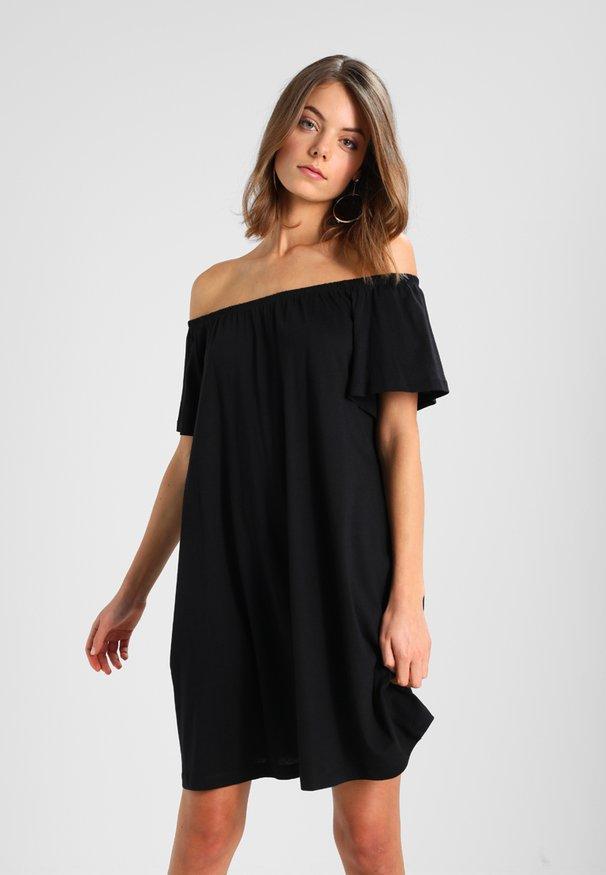 Robe noir manche longue