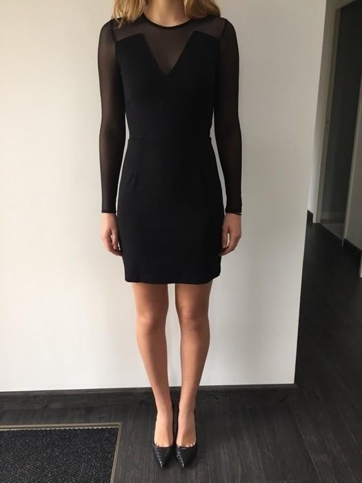 Robe noir mango