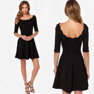 Robe noir pas cher