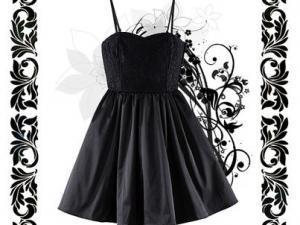 Robe noir pour ado