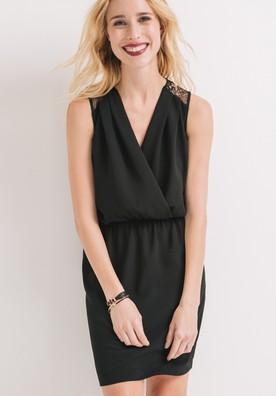 Robe noir promod