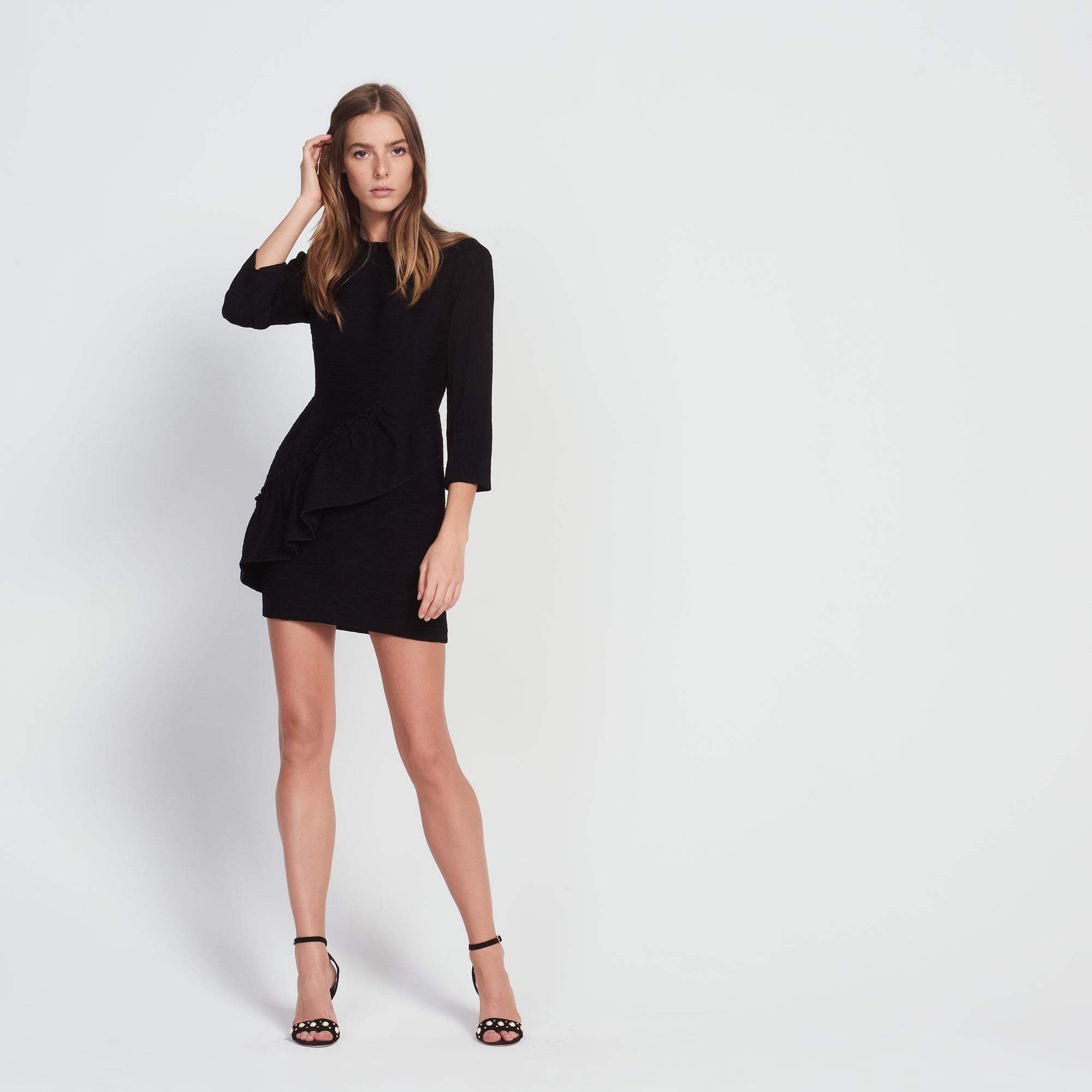 Robe noir sandro