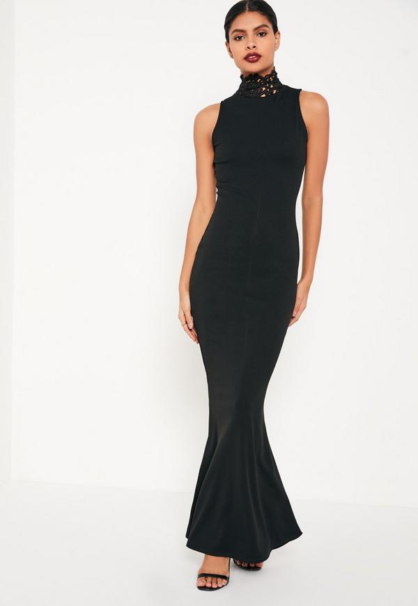 Robe noir sirene