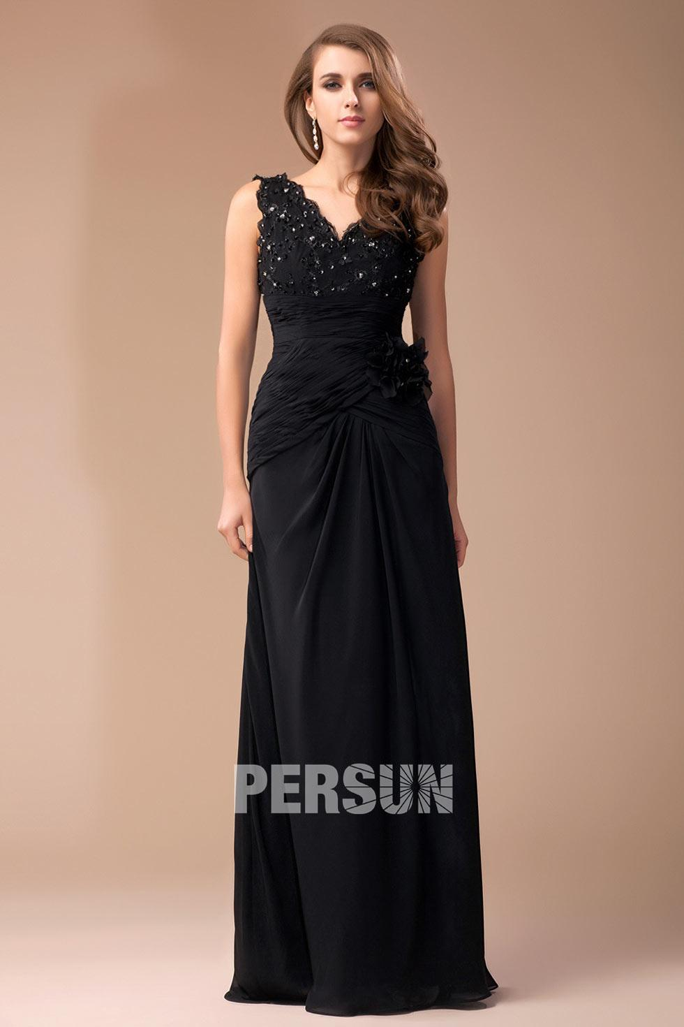 Robe noir soirée