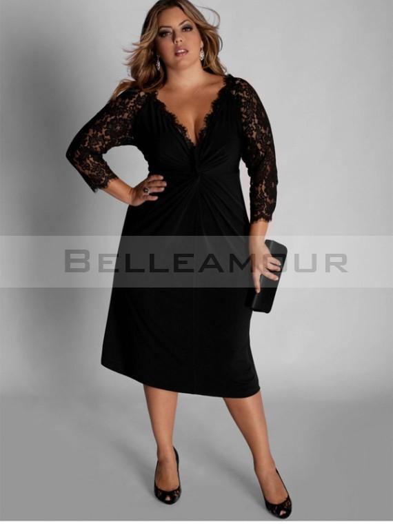 Robe noir taille 48