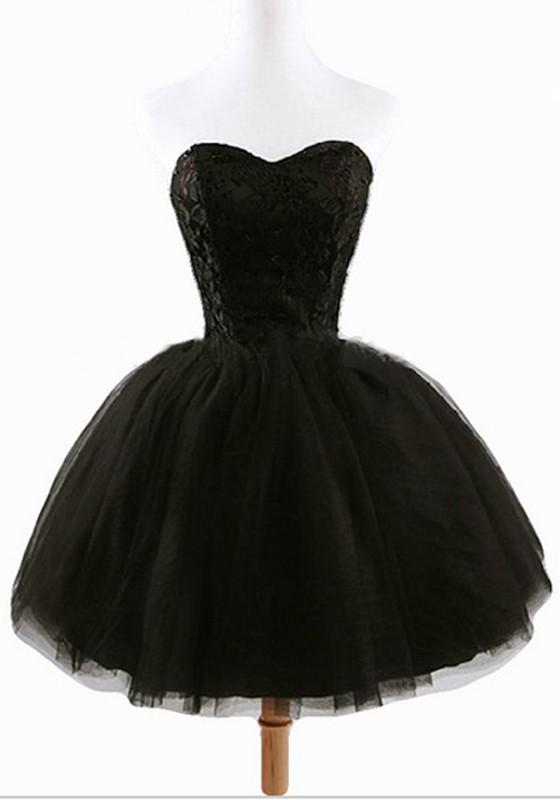 Robe noir tutu
