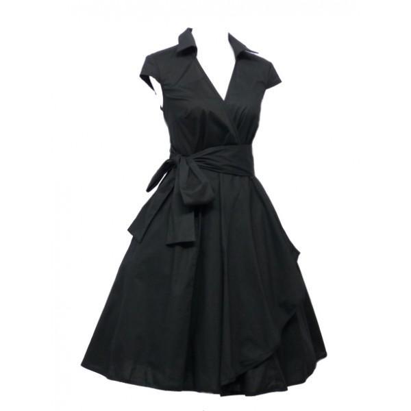 Robe noir vintage