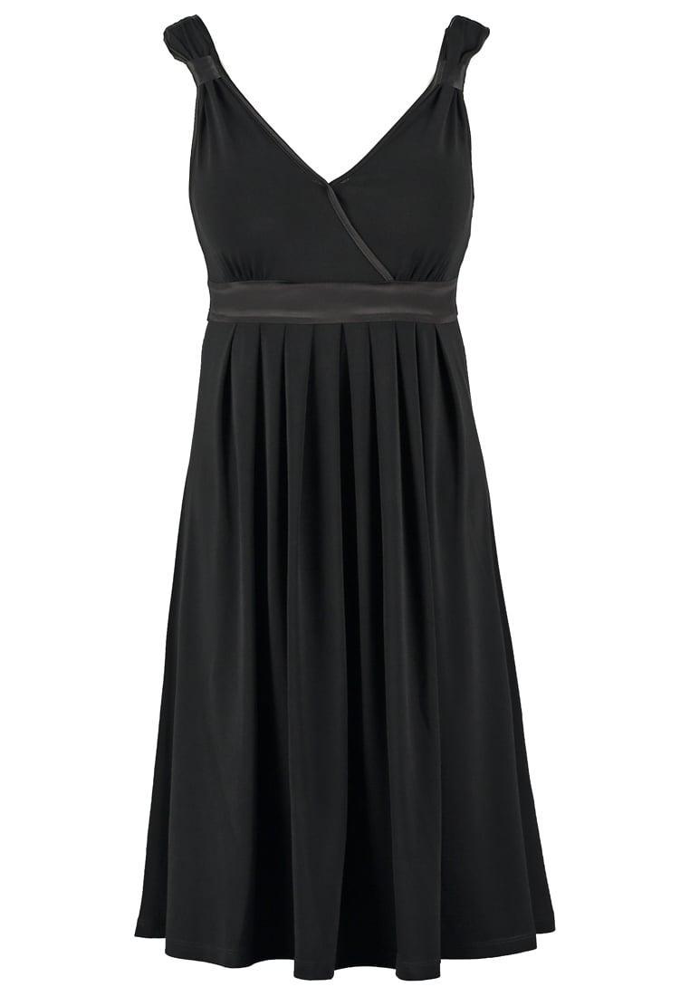 Robe noir zalando