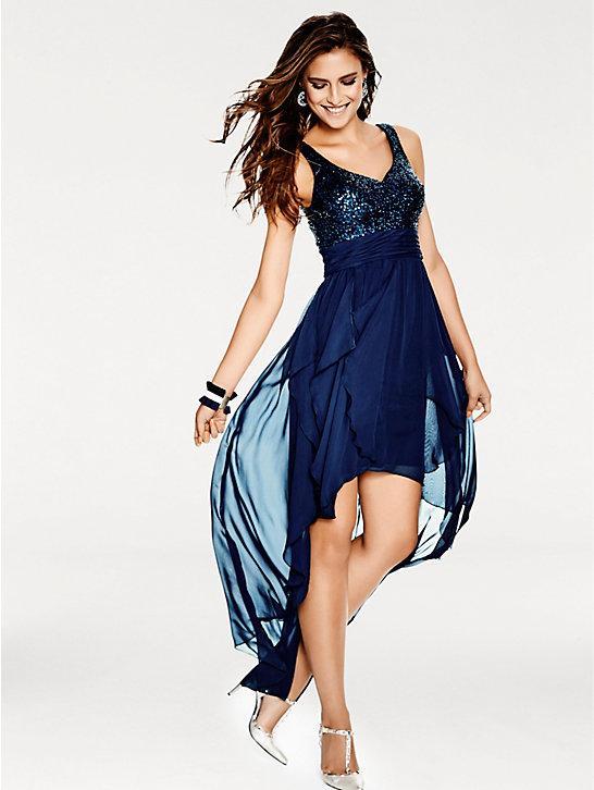 Robe paillette bleu