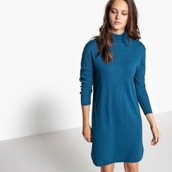 Robe pull bleu canard
