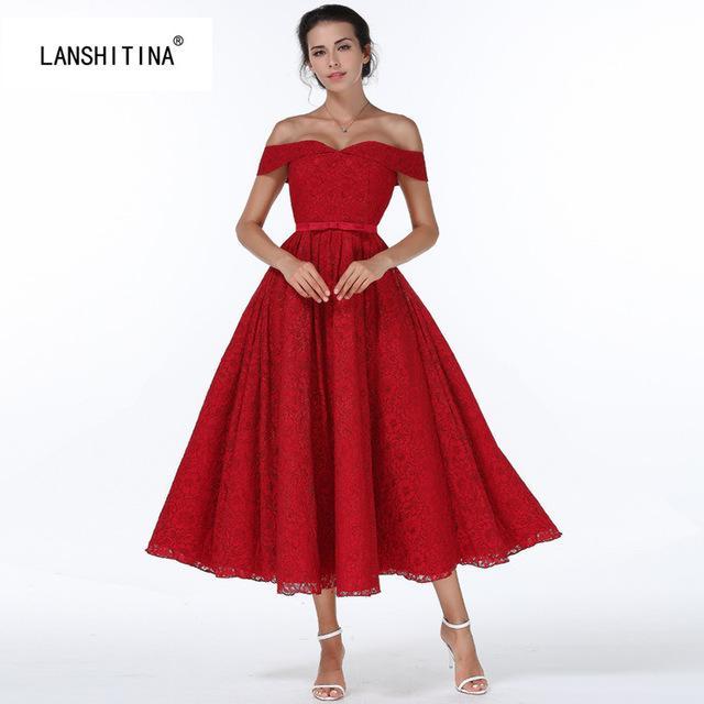 Robe retro rouge