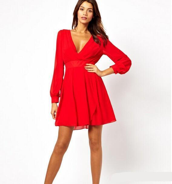 Robe rouge été