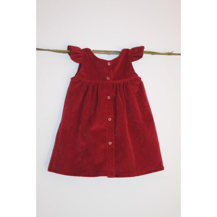 Robe rouge bebe