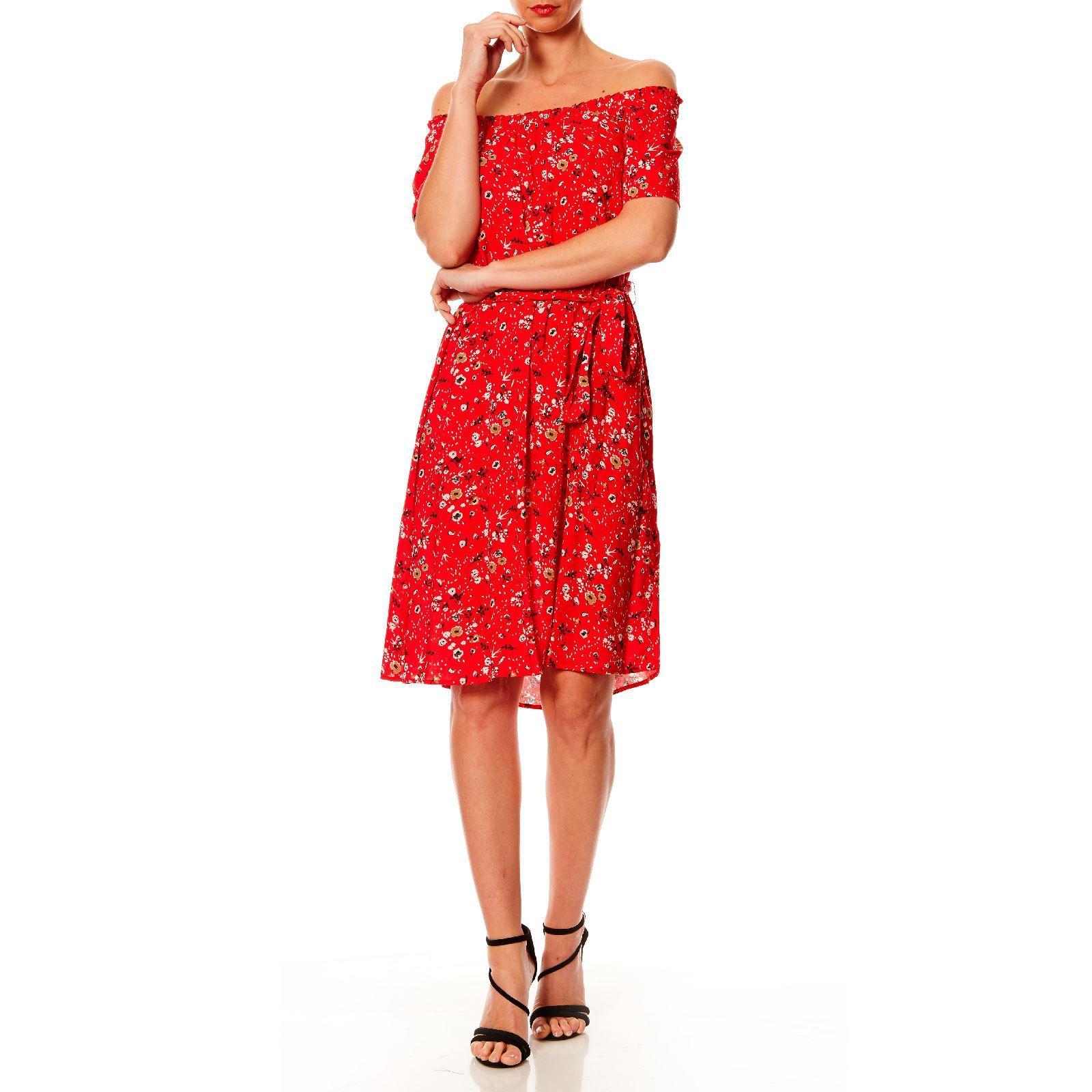 Robe rouge caroll