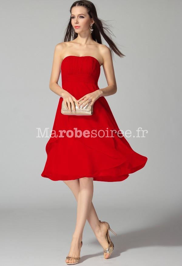 Robe rouge ceremonie