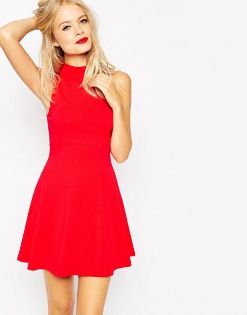 Robe rouge de noel