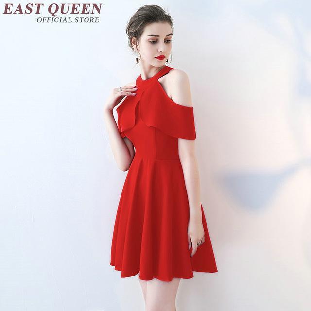 Robe rouge elegante
