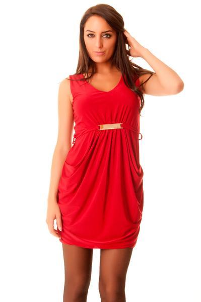 Robe rouge femme pas cher