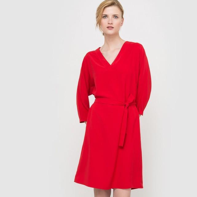 Robe rouge la redoute